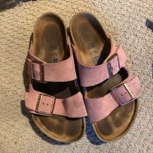 Birkenstock Arizona in rose - Size EUR 38